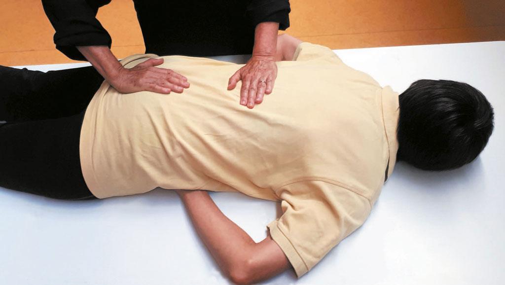 Visuel de l'atelier massage